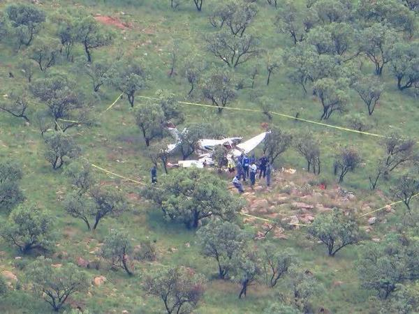 Southafrican Paramedics confirm 2 people died after a light aircraft crashed Krugersdorp West Rand
