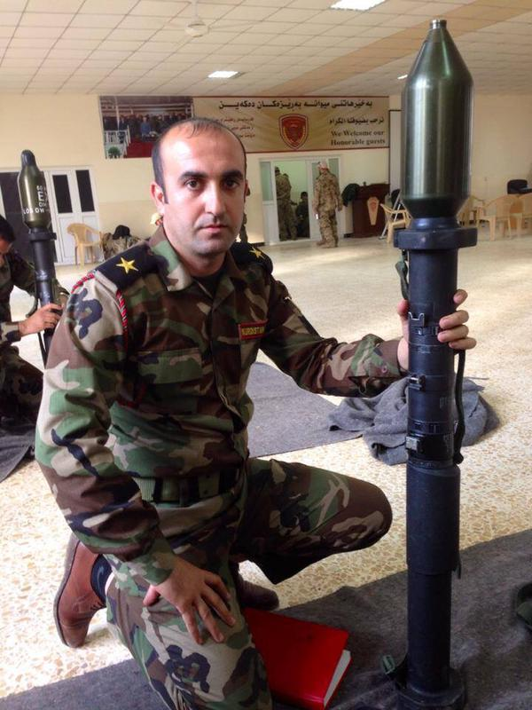 Kurdish forces in Iraq have received German Heckler & Koch G36 rifles & Panzerfaust 3 to fight ISIS