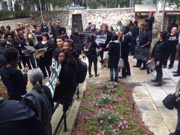 ICantBreathe solidarity from Gainesville, FL.
