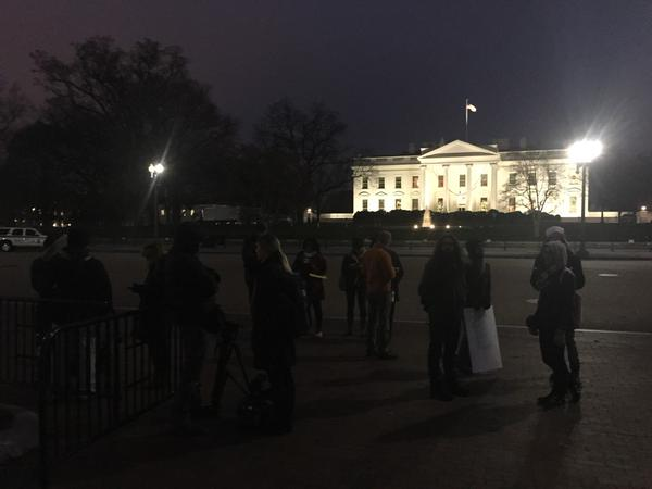DCFerguson Currently at the North side of the White House