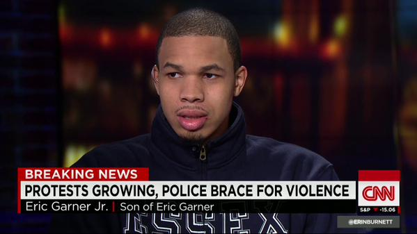 EricGarner's son on mass protests: It made me feel proud. @CNN