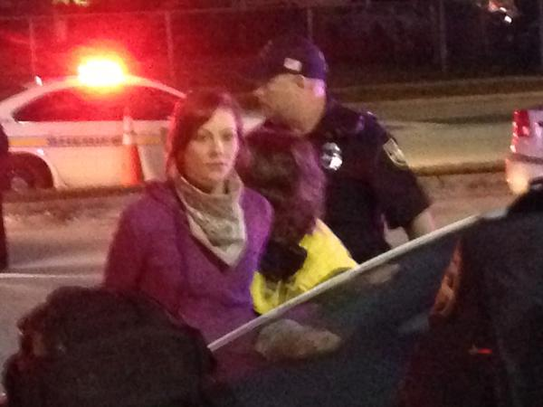 Almost every downtown Jacksonville protester in handcuffs