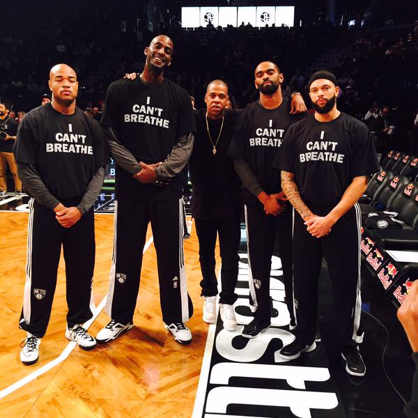 Jay Z and the Brooklyn Nets support the movement