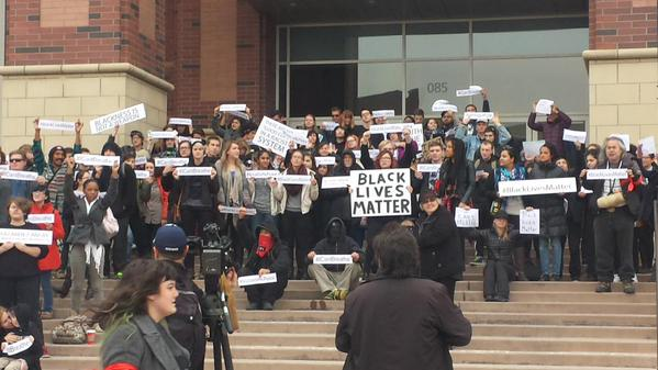 Protest Time at University of Nevada