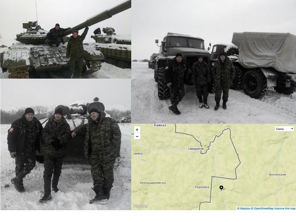 Russian troops near border of Ukraine