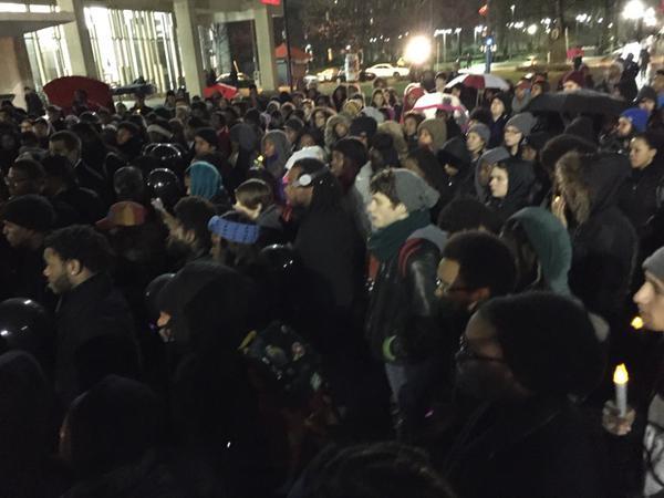 Rally at Temple University, Philadelphia, PA