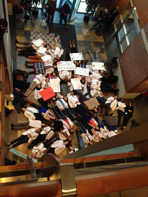 whitecoats4blacklives at Medical College Wisconsin