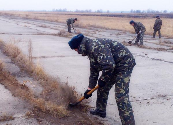Ukraine is renewing the abandoned military airport Pivtsi in the north-eastern Chernihiv region.