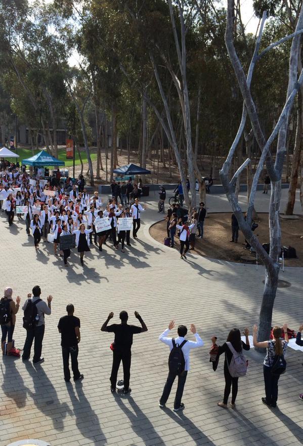 whitecoats4blacklives University of California San Diego, CA
