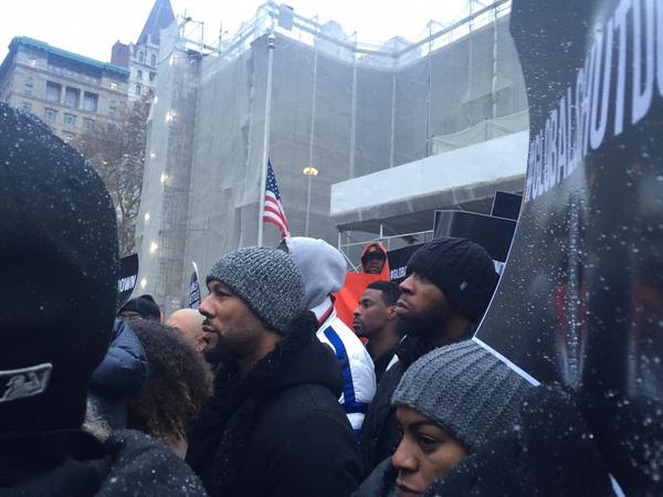 .@common is also standing at New York City Hall, NYC  in solidarity with the movement
