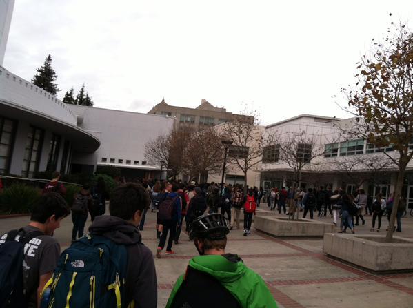 Berkeley High Walk Out