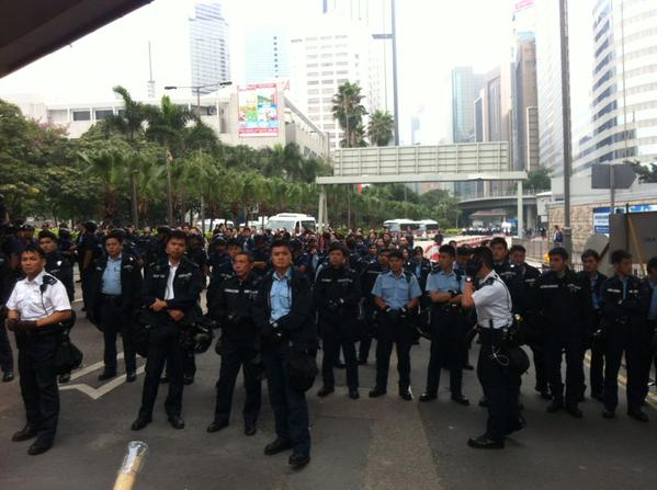 HongKong police ready to move on Admiralty protest camp