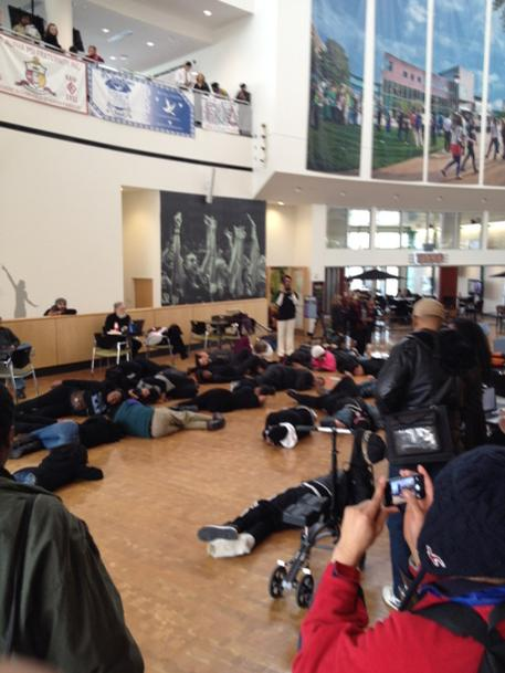 Die in at Cleveland State University