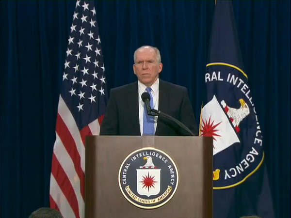 CIA Dir. Brennan: Use of drones has done tremendous work in helping keep this country safe