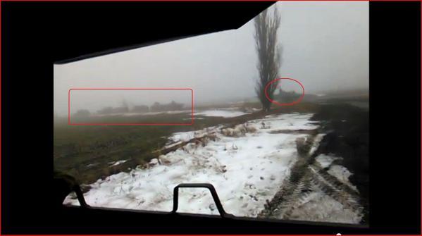 Putin new invasion convoy in Ukraine  near Starobesheve