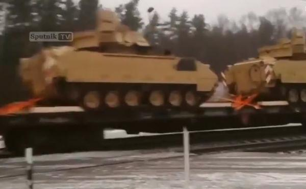 US Tanks Are Rolling Across