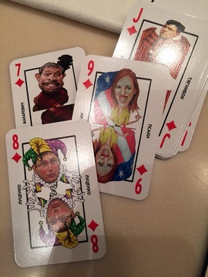 Fura of sets of playing cards with the enemies of the Russian people was printed for the Kremlin, - media