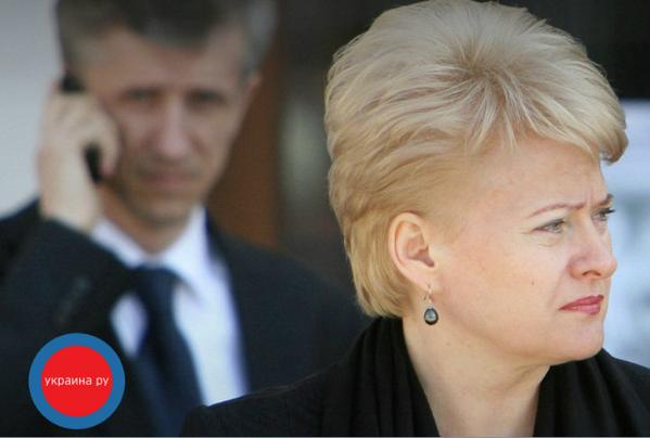 President of Lithuania is under information attack