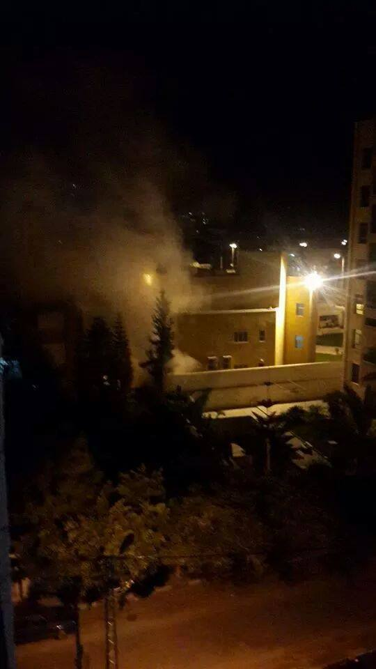Explosion occurred short time ago at French Culture Center in Gaza. No injuries reported. Cause still unknown.