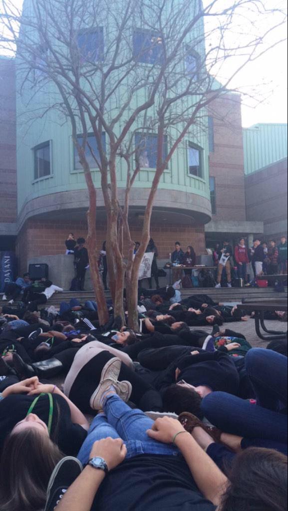 Franklin Protest