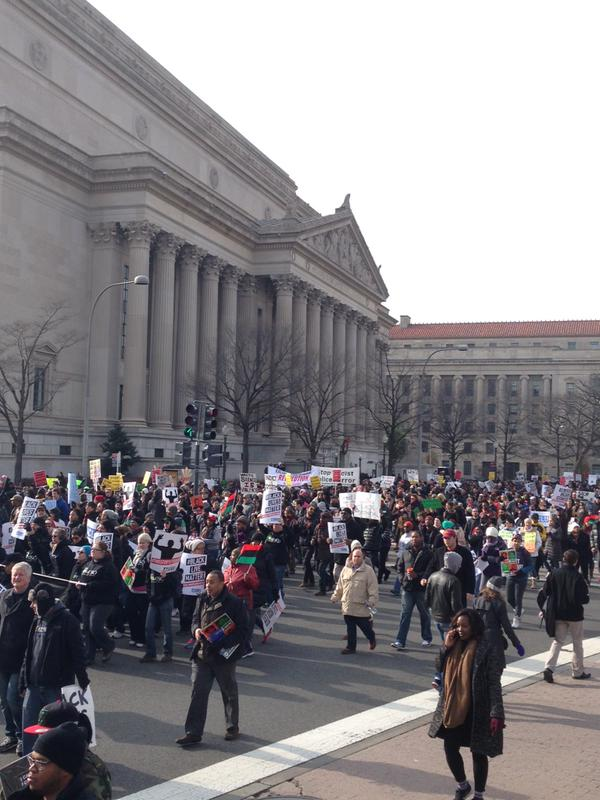 MarchForJustice near National Archives