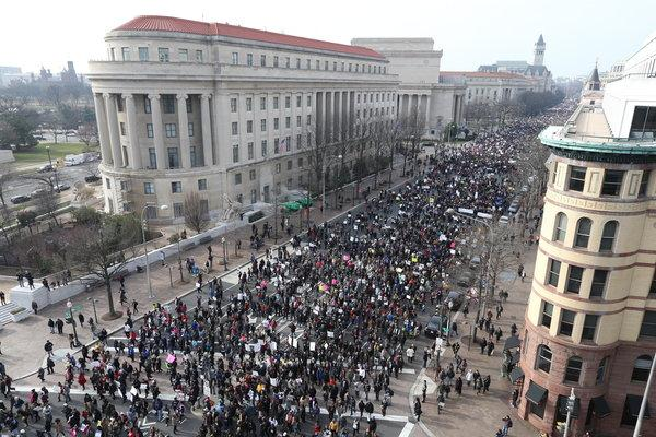 Thousands Justiceforall  March in DC to Protest Deaths by Police