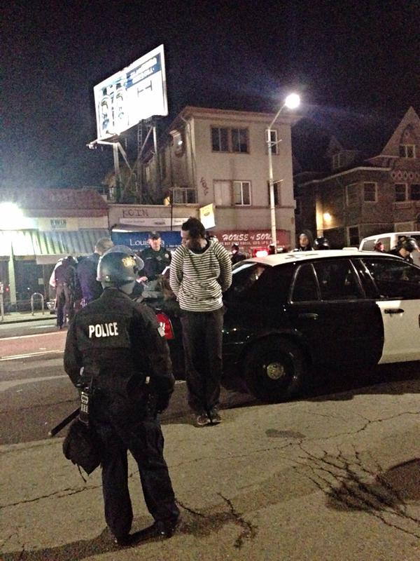 Arrests being made oaklandprotest