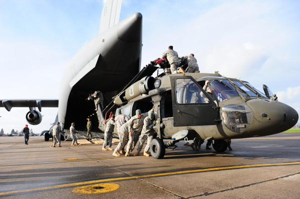 US, NATO Allied and partner nations in emergency deployment training