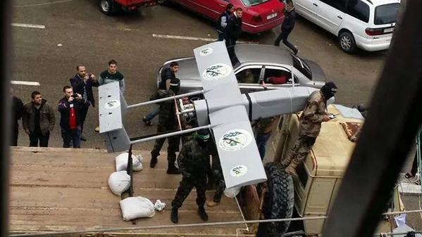 Today Hamas's drone was circulating over the military parade (west Gaza) and IAF's F16s were monitoring from the east