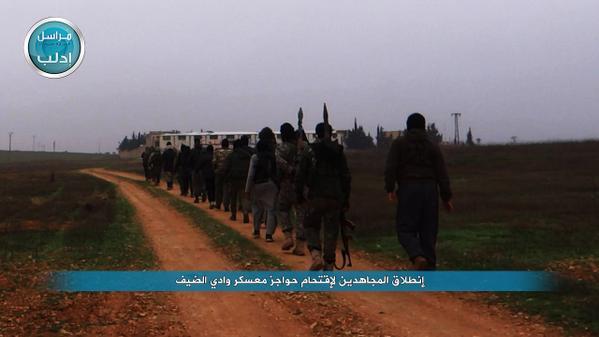 Syrian branch of Al-Qaeda, Al-Nusra continues its offensive on besieged Wadi_Al_daif military base. Syria