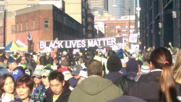 BlackLivesMatter in Seattle