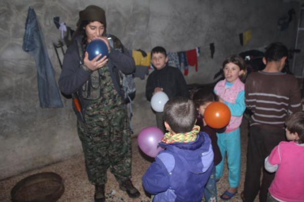 Daily life for civilians in Kobane