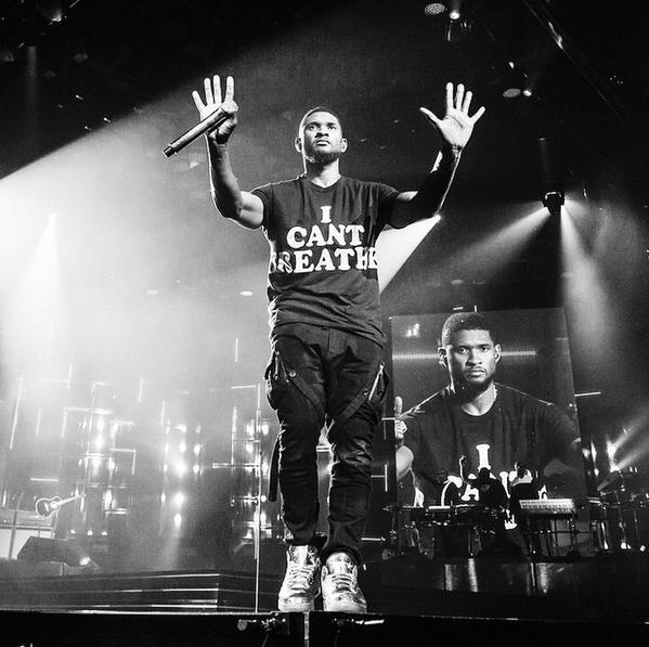 Usher's ICantBreathe shirt ThisStopsToday