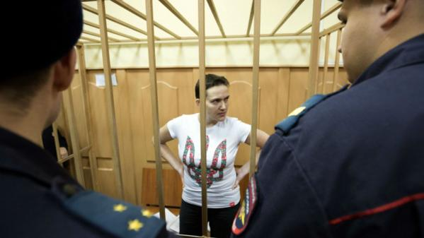 Savchenko was visited the doctor. Lawyers persuade him to stop hunger-strike.