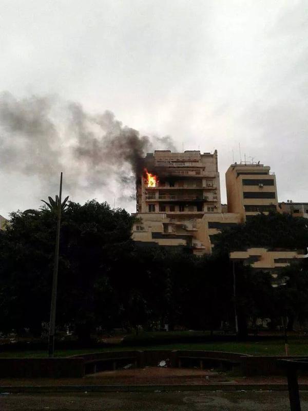 Fire in Benghazi
