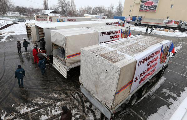 Another Russian supply convoy will go to the Donbass tomorrow