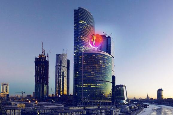 Orthodox so frightened Eye of Sauron in the Moscow business center, that they decided build a church there