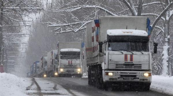 Tenth Putin's convoy will be sent to the Donbass tomorrow