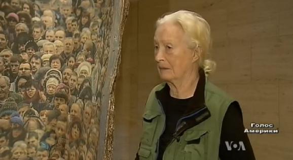 American sculptor has dedicated sculpture of Ukrainian Maidan