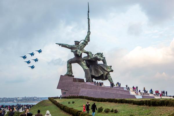 Russian jets in occupied Sevastopol