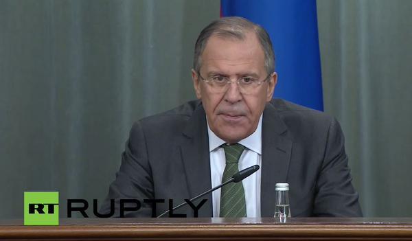 Sergei Lavrov attends plenary session of CSTO