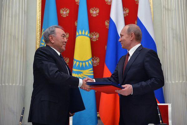 Vladimir Putin met with President of the Republic of Kazakhstan Nursultan Nazarbayev