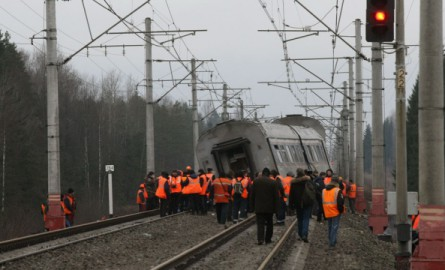 The explosion occurred on the railway near the station Zastava-1 in Odessa