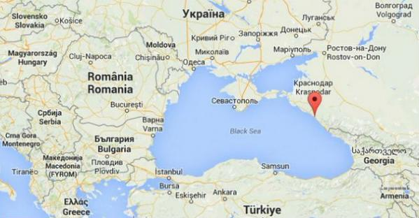 Oil has poured out to the Black Sea due to an accident on the pipeline