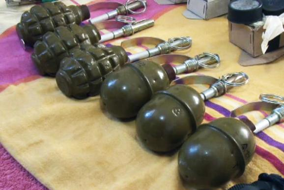 Odessa police found terrorist arsenal in the house of a resident of Transnistria