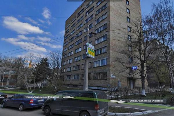 The explosion took place in a hostel in Kiev, one person was died