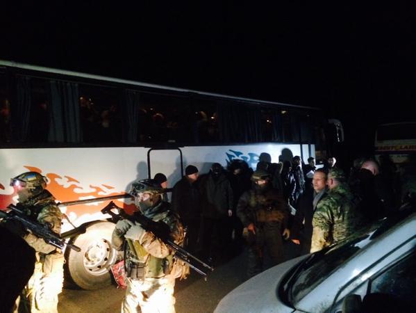 Prisoners swap between Ukraine and DNR began.