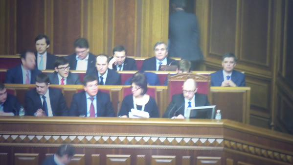 Government came to parliament to present final version of budget,which is expected to be voted today