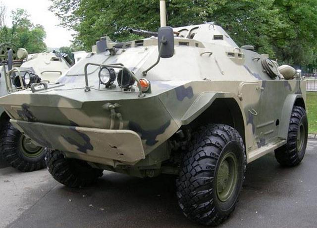 Nikolayev armored plant started to manufacture updated BRDM-2 Khazar.