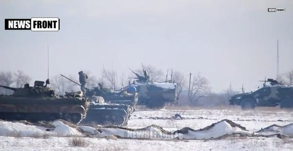 Russians will hold every day drills in occupied part of Luhansk region
